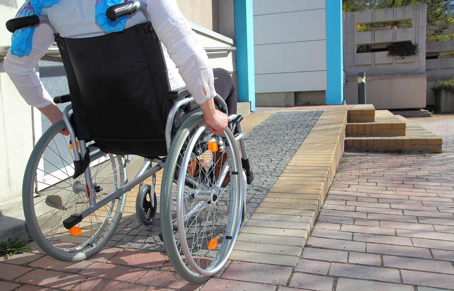 Wheelchair Ramp Senior Safety